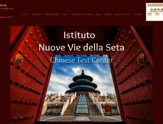 nuoveviedellaseta.com screenshot