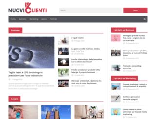 nuoviclienti.com screenshot