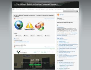 nuoviclienti.wordpress.com screenshot