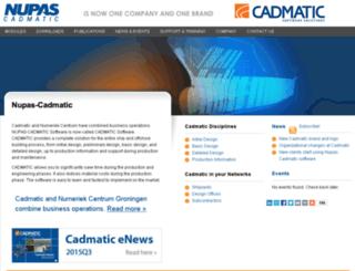 nupas-cadmatic.com screenshot