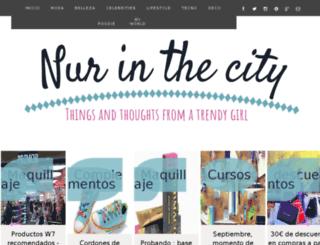 nur-inthecity.blogspot.com screenshot