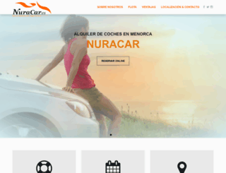 nuracar.es screenshot
