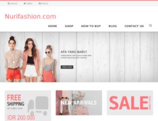 nurifashion.com screenshot