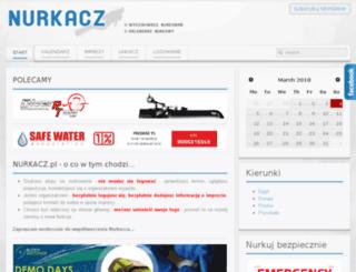 nurkacz.pl screenshot