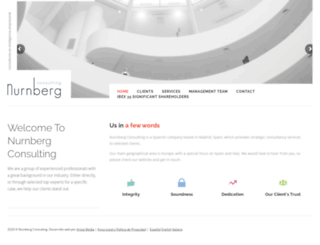 nurnbergconsulting.com screenshot