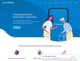 nursebuddy.fi screenshot