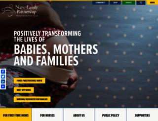 nursefamilypartnership.org screenshot