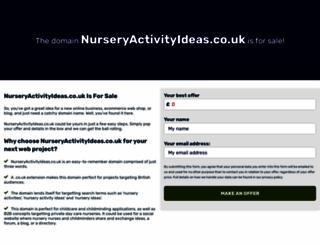 nurseryactivityideas.co.uk screenshot