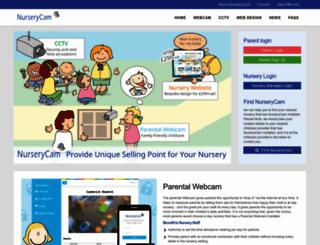 nurserycam.co.uk screenshot