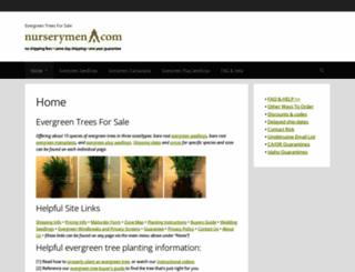 nurserymen.com screenshot