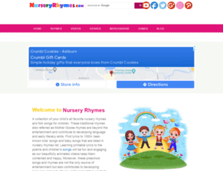 nurseryrhymes.com screenshot