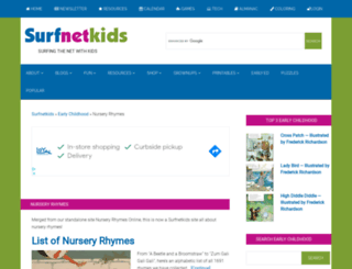 nurseryrhymesonline.com screenshot
