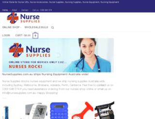 nurseshop.com.au screenshot