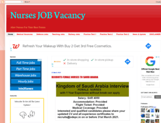 nursesjob-vacancy.blogspot.ae screenshot