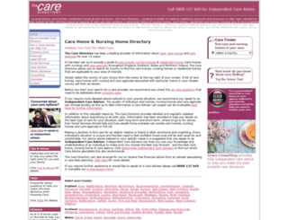 nursing-home-directory.co.uk screenshot