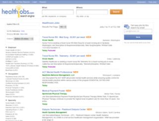 nursing-jobs.com screenshot