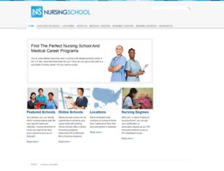 nursing-school.org screenshot