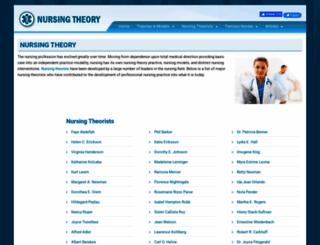 nursing-theory.org screenshot