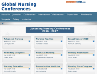 nursing2015.conferenceseries.net screenshot