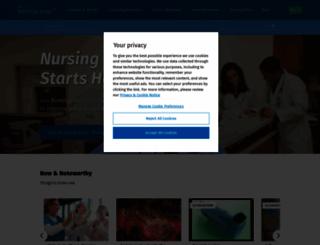 nursingcenter.com screenshot