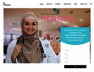 nursingcollegemalaysia.com screenshot
