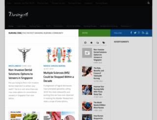 nursingcrib.com screenshot
