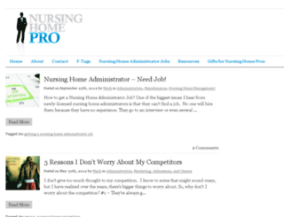 nursinghomepro.com screenshot