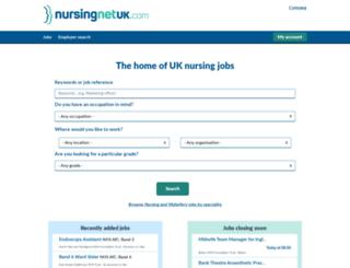 nursingnetuk.com screenshot