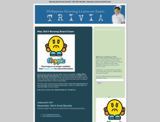nursingtrivia.blogspot.com screenshot