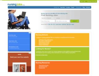 nursingvoices.com screenshot