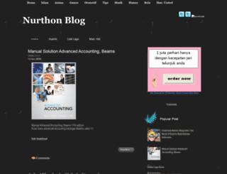 nurthon.blogspot.com screenshot