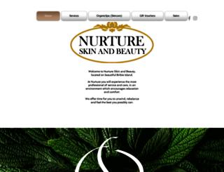 nurtureskinandbeauty.com.au screenshot
