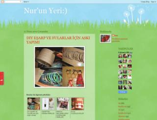 nurunyeri.blogspot.com screenshot