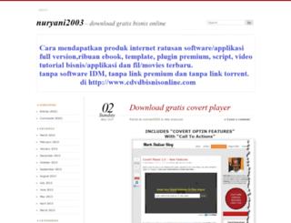 nuryani2003.wordpress.com screenshot