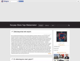 nuryapistore.blogcu.com screenshot