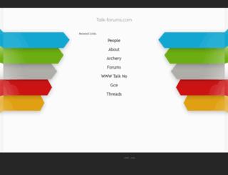 nusantara.talk-forums.com screenshot