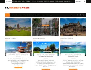 nusantarawisata.com screenshot