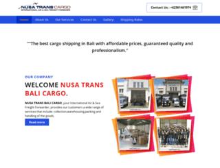 nusatrans.com screenshot