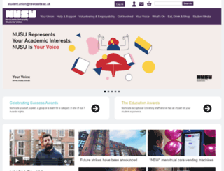 nusu.co.uk screenshot