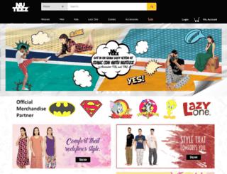 nuteez.buildabazaar.com screenshot