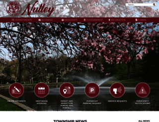 nutleynj.org screenshot