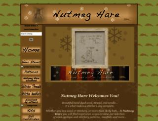 nutmeghare.com screenshot