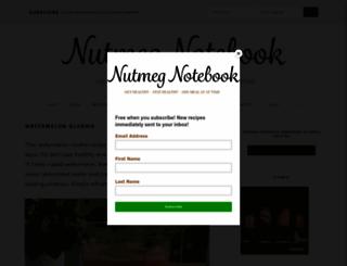 nutmegnotebook.com screenshot