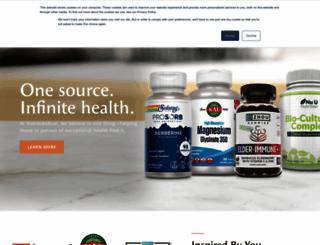 nutraceutical.com screenshot