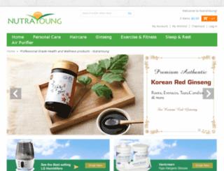 nutrayoung.com screenshot