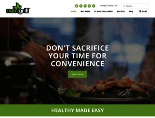 nutri-grill.com screenshot