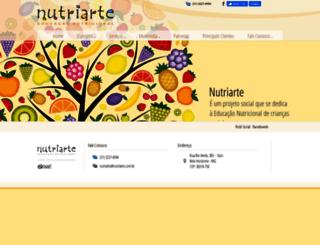 nutriarte.com.br screenshot