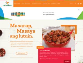 nutriasia.com screenshot