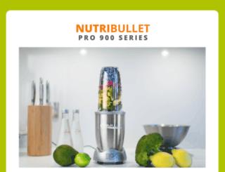 nutribullet900pro.com screenshot