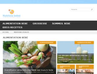nutricia-bebe.fr screenshot
